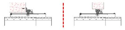 KIMPLY ® : Pose de Porte à lanières repliables contre linteau