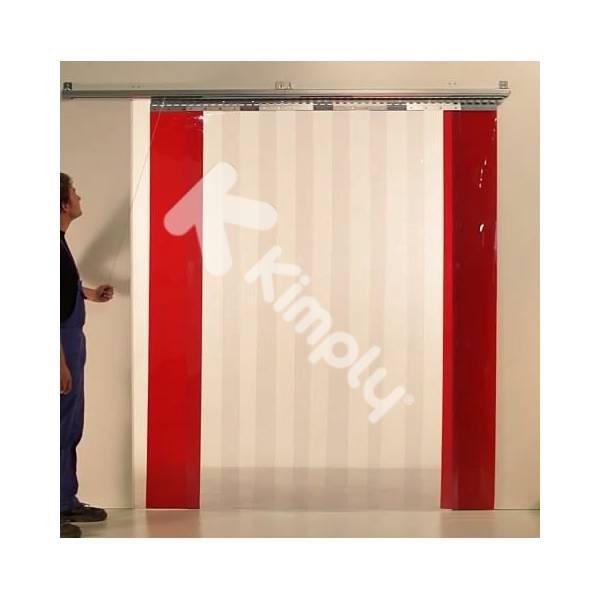 Porte souple PVC coulissante