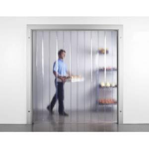 Porte à lanières isolation thermique