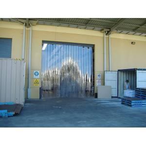 Porte à lanières souples pour quai de chargement