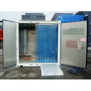 Porte à lanières PVC frigorifique pour  camion frigorifique