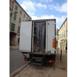 Porte à lanières de camion frigorifique ou container frigorifique