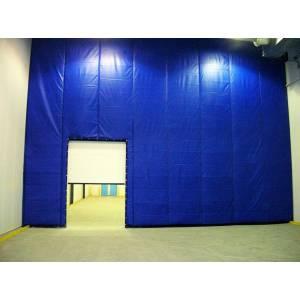 Capotage acoustique, mur anti-bruit sur poste