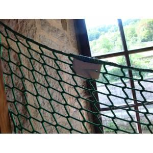 Filet barrière de sécurité souple