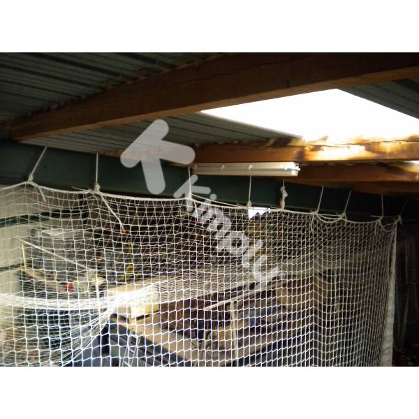 Filet de sécurité plafond