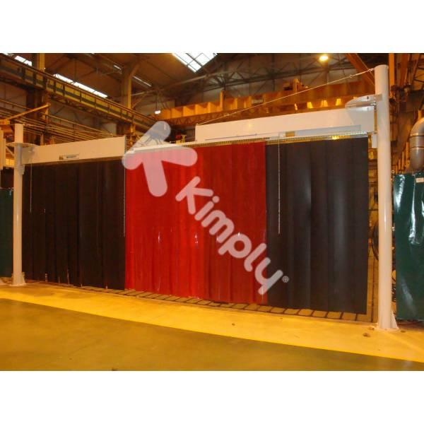Rideaux de soudage protection soudure couverture anti Rideau thermique contre la chaleur