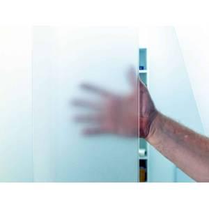 Lamelle de porte souple translucide