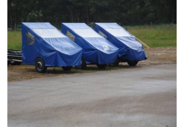 Bâches de protection industrielle, bâche imperméable pour camion, benn