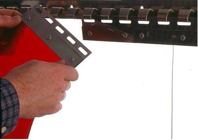 KIMPLY ® : Kit barre support d'accrochage en Inox pour vos portes à lanières